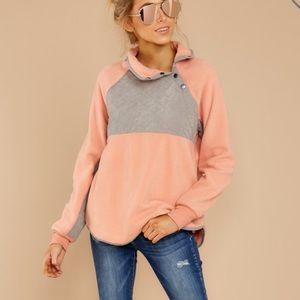 Peach pullover